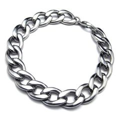 """KONOV Jewelry Stainless Steel Wide Men's Bracelet, Silver, 9 1/2 Inch KONOV Jewelry. Save 80 Off!. $9.99. stainless steel is durable and scratch resistant. Color: Silver. Width: 14mm(0.55"""") Length: 9.45""""(24cm). Material: Stainless Steel"""