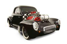 Tony Mattioli's  Hemi powered Willys