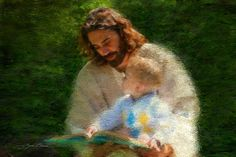 Painting of Jesus Christ by Greg Olsen...