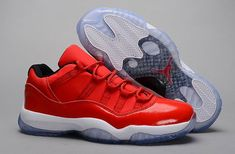 Air Jordan 11 Retro Mens Red White