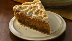 Fresh ginger perks up a pumpkin pie, and a streusel layer adds crunch under a toasted marshmallow topping.