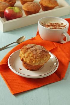 apple cinnamon doughnut muffins - Copy