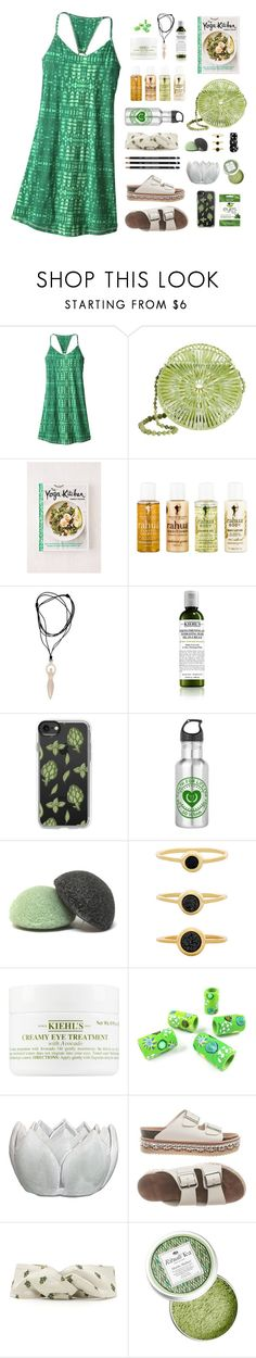 """""""Cookbook Couture v82"""" by jennifertrimble ❤ liked on Polyvore featuring Patagonia, Cult Gaia, Urban Outfitters, RAHUA, NOVICA, Kiehl's, Casetify, Gorjana and Valentino"""