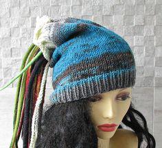 Dread Tube Dredlocks Accessories Dread Hat Colorful Dreadlock