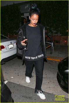 Rihanna Is Responsible for Puma's Booming Sales : Photo #3502562. Rihanna bundles up as she carries a glass of wine while leaving Giorgio Baldi restaurant late Friday night (November 6) in Santa Monica, Calif.     Earlier this…