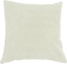 """Modern Corduroy Elin Cream 16"""" Cushion Cover Luxury Soft"""