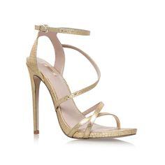 Georgia Gold High Heel Sandals By Carvela Kurt Geiger | Kurt Geiger