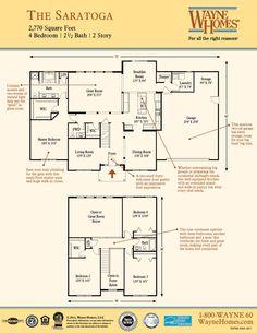 Wayne homes winchester floor plan