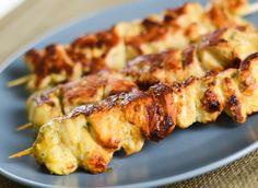 Brochettes de poulet à la marinade d'épices