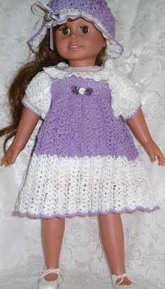104 Crochet Pattern AG1803 AMERICAN GIRL CROCHET PATTERN [de] - .