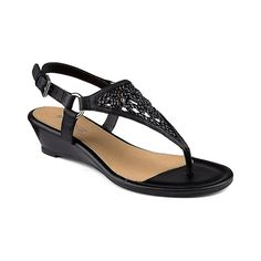 Sperry Women's Laina Wedge Thong Sandals *** Review more details here : Platform sandals