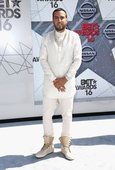 daiilycelebs:    6/26/16 - French Montana at the 2016 BET Awards in LA.