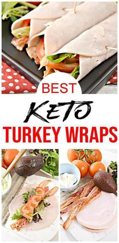Gear up for the EASIEST keto recipe with these keto turkey BLT wraps with avocado mayo! The low carb turkey wraps make a great keto lunch or keto dinner. I love these turkey meat roll ups no tortilla version – they are super tasty Low Carb Wraps, Wrap Recipes, Lunch Recipes, Diet Recipes, Dessert Recipes, Turkey Lunch Meat Recipe, Healthy Low Carb Recipes, Healthy Snacks, Turkey Roll Ups