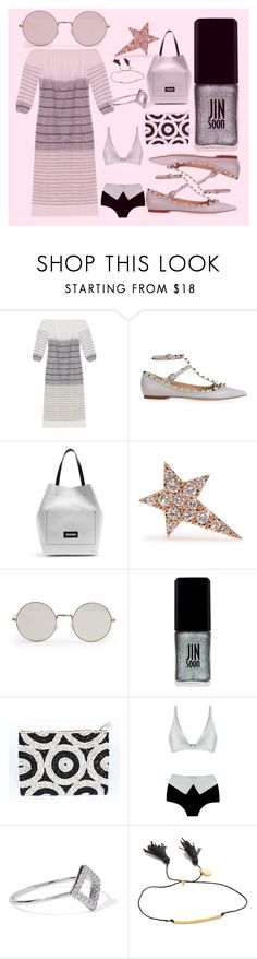 """fashion is a life of tree"" by denisee-denisee ❤ liked on Polyvore featuring Lemlem, Valentino, Marni, Diane Kordas, Illesteva, JINsoon, ADRIANA DEGREAS, Noir Jewelry, Gorjana and vintage"