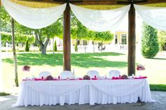 Classy wedding ceremony design. Who doesn't like this place? #wedding #ceremony #design #place