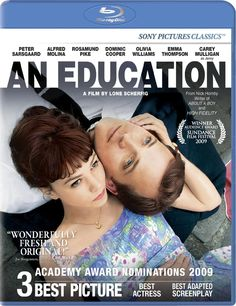 """An Education"" with Carey Mulligan and Peter Sarsgaard."