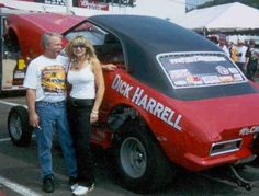 Dick Harrell Funny Car Drag Racing, Funny Cars, Lightning Aircraft, Linda Vaughn, Old Race Cars, Chevrolet Bel Air, Drag Cars, Vintage Humor, Car Humor
