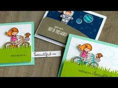 Hidden Slider & Pull-Tab Cards (+ Lawn Fawn Ink) - YouTube