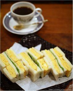 Omelet Sandwiches たまごサンド | Tokyo, Japan