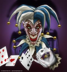 ✯ Joker :: Artist Henning Ludvigsen ✯