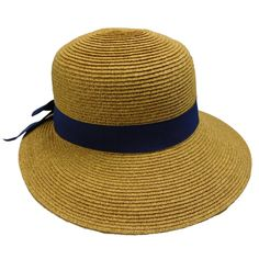 Asymmetrical Brim Summer Hat
