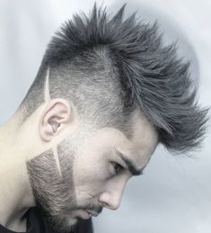 Amazing 45 Trendy Spiky Hairstyles For Men Guide) Tapered Spiky Hair - Best Spiky Hairstyles For Men: Cool Spiky Hair, Cuts and Styles - Short, Medium, Long Spiky Haircuts Cool Hairstyles For Men, Hairstyles Haircuts, Haircuts For Men, Barber Hairstyles, Latest Hairstyles, Hair And Beard Styles, Curly Hair Styles, Hipster Beard, Popular Haircuts