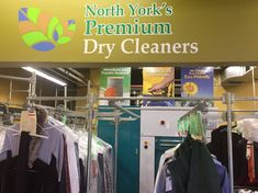 Have no time to find your nearest dry cleaner? Let North York's Premium Dry Cleaners take care of your dry cleaning needs.