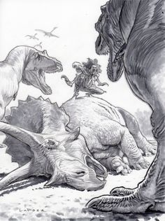 Dinosaur Drawing, Dinosaur Art, Prehistoric Wildlife, Creature Concept Art, Sword And Sorcery, Jurassic World, T Rex, Animal Drawings, Art Reference