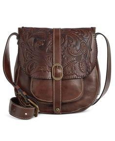 Patricia Nash Tooled Barcelona Crossbody Clothing, Shoes & Jewelry - Women - handmade handbags & accessories - http://amzn.to/2kdX3h7
