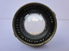 Zeiss-Jena-Sonnar-50mm-f1-5-Nickel-lens-w-ears-Contax-1-11a-111a-rf-Camera-rare