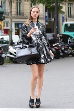 #PFW Couture #2014 #Paris #streetstyle
