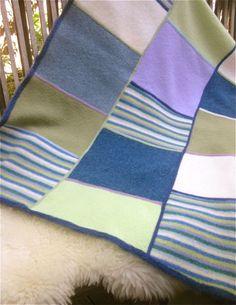 Upcycled Wool Blanket via Etsy