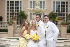MELISSA + NICHOLAS'S RITZ CARLTON NAPLES WEDDING | BRIDAL PARTY