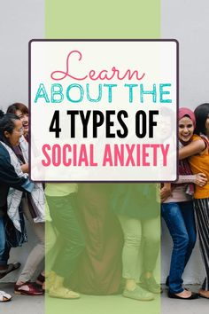 There are several different ways people experience social anxiety symptoms. Anxiety may be about appearance or social connection. It can be related to feeling judged. Read about several different types of social anxiety. Social Anxiety Symptoms, Types Of Anxiety, Signs Of Anxiety, Anxiety Tips, Anxiety Help, Anxiety Facts, Health Anxiety, Generalized Anxiety Disorder, Health