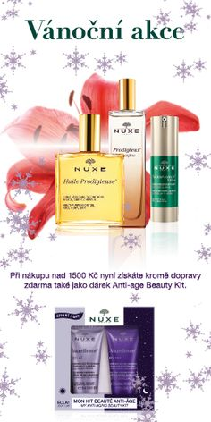 Nuxe Nuxellence Beauty Kit dárek