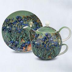 McIntosh® Van Gogh's 'Iris' Tea-for-1 Set