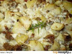 Francouzské brambory s mletým masem Potato Salad, Cauliflower, Potatoes, Vegetables, Ethnic Recipes, Drinks, Drinking, Cauliflowers, Beverages