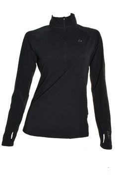 Paradox Womens High Performance Base Layer 1/4 Zip Top Medium Shirt Merino Blend #Paradox #BaseLayers