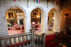 Highclere Castle in Hampshire,