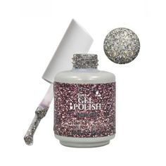 IBD gel polish in Aphrodite - in salon now. This was our most popular colour over the festive season! Ibd Just Gel Polish, Glitter Nail Polish, Gel Nails, Manicure, Aphrodite, Natural Nails, Flask, Nail Designs, How To Apply