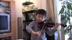 J.S.Bach - Gavotte in D major : (Suzuki Violin 3-6) [duet]; スズキの教本3巻の6曲目。バッハの管弦楽組曲3番(BWV1068)よりガボット。 See more of this young violinist #from_HaruyasViolin