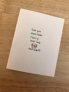 Brooklyn Nine Card 99 Terry Jeffords B99 Birthday C