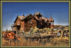 Mansion of the West - Nevada City MT | Flickr - Photo Sharing!