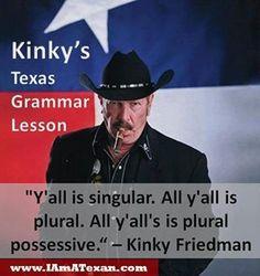 Kinky Freeman - God bless Kinky, see you in hell!