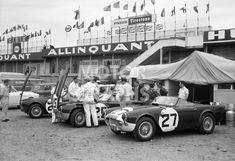Triumph TRS at Le Mans 1961