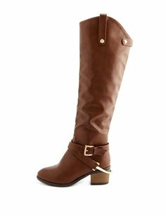 Over-the-Knee Harness Boot: Charlotte Russe
