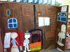 """A Tour of My """"Colony""""....5th grade room that was """"turned into"""" an early colonial village.  Awesome!"""