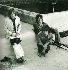 Brian Jones, Mick Jagger et Keith Richards
