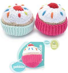 adorable - fairtrade cupcake rattles :) via @babipur