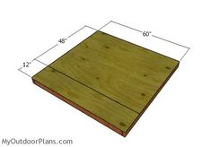 5x5 Shooting House Plans | MyOutdoorPlans | Free Woodworking Plans and Projects, DIY Shed, Wooden Playhouse, Pergola, Bbq
